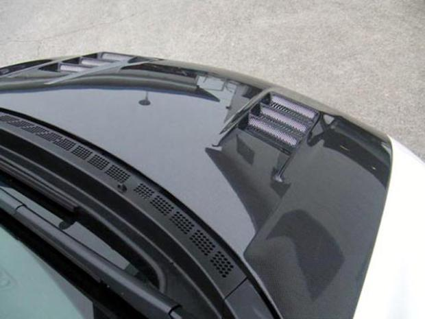 feel honda twincam cr-z bonnet