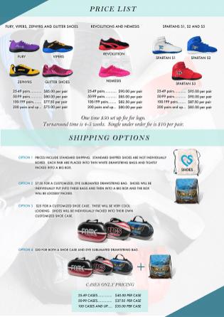 4 - 2021 Shoe Price list flyer-1