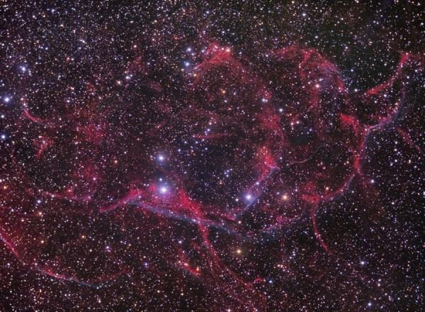 Part of the Vela supernova remnant - Astronomy Magazine ...