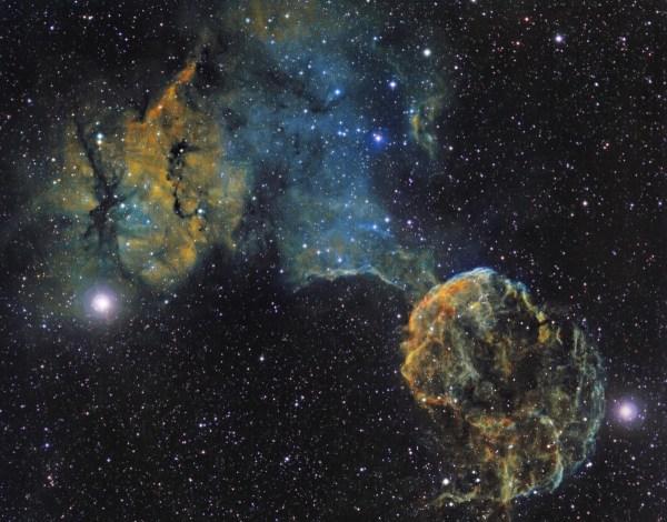 Sh 2-249 & the Jellyfish Nebula (IC 443) - Astronomy ...