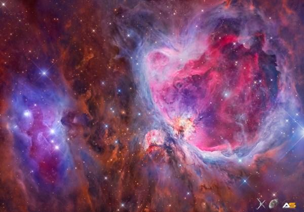 Mosaic of the Orion Nebula (M42) - Astronomy Magazine ...
