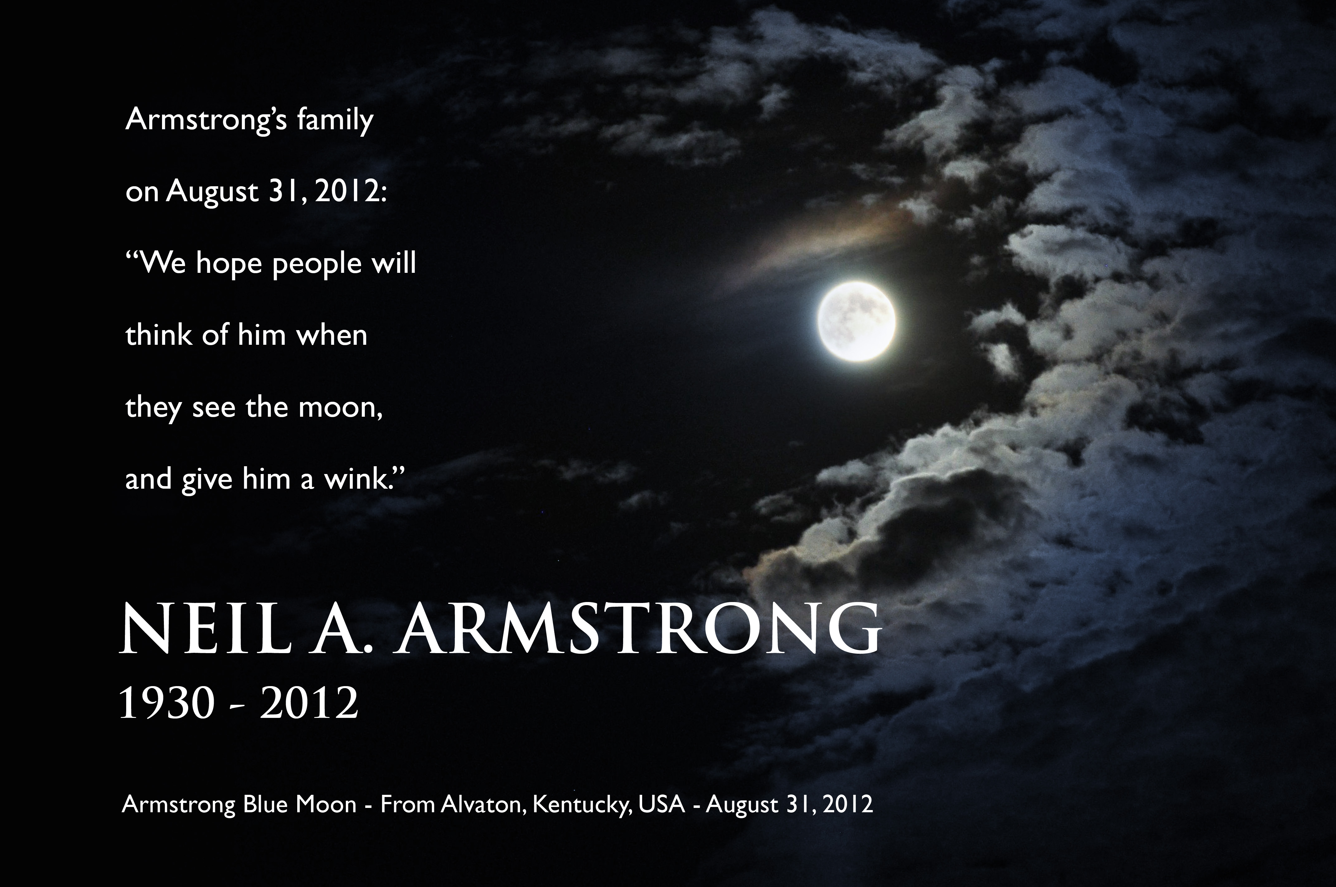 Armstrong Blue Moon