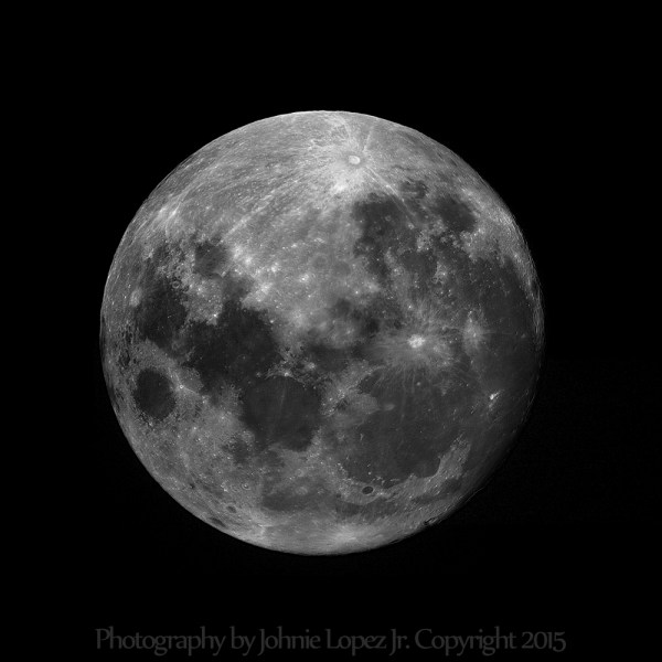 My first Full Moon mosaic Astronomy Magazine