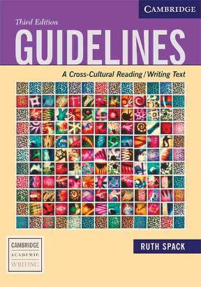 Guidelines A Cross-Cultural Reading/Writing Text 3rd ...
