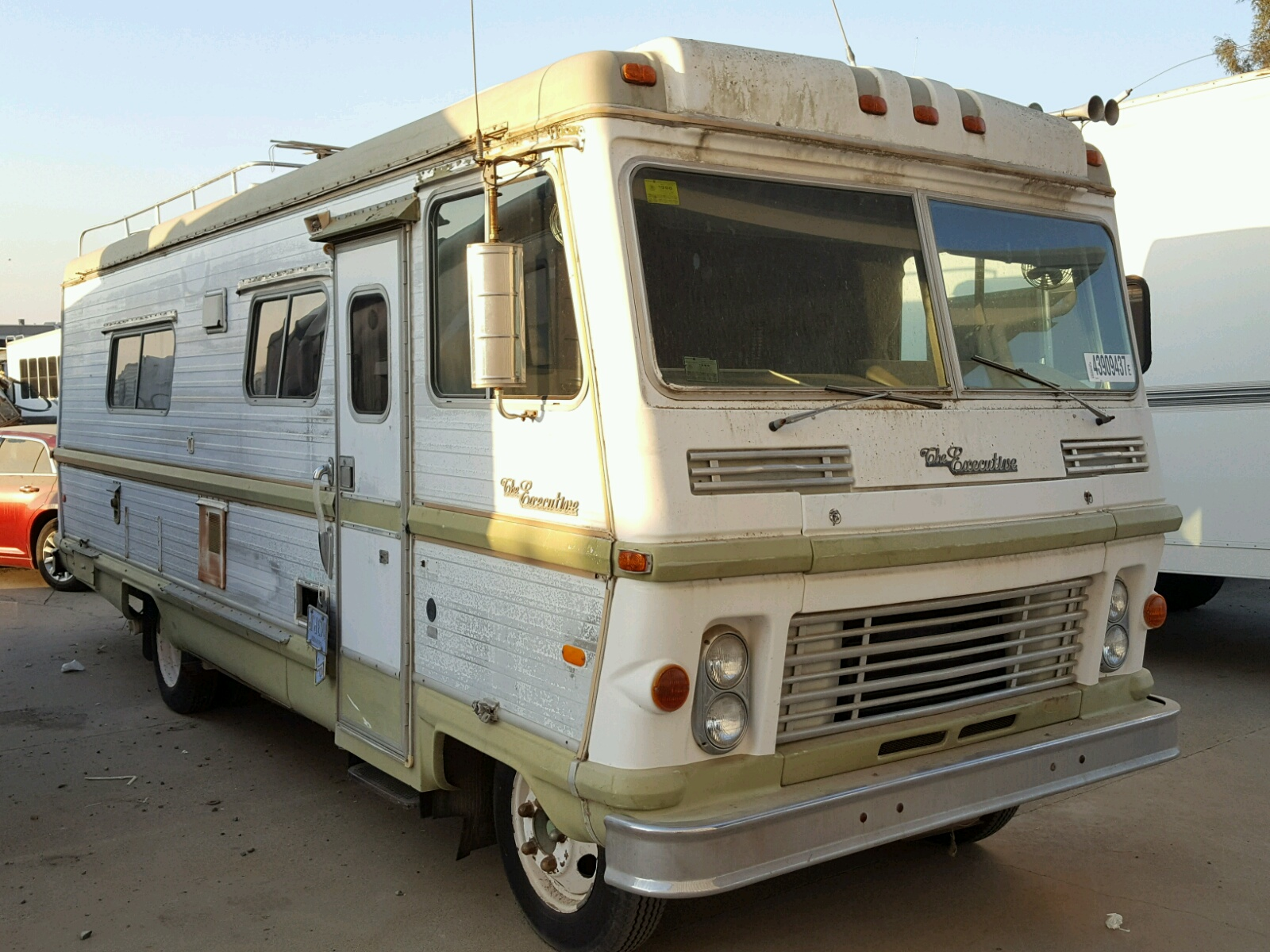 Dodge 1972 Motorhome Executive