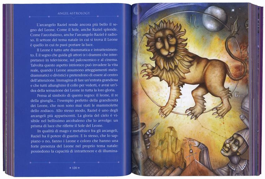 Angel Astrology Leone