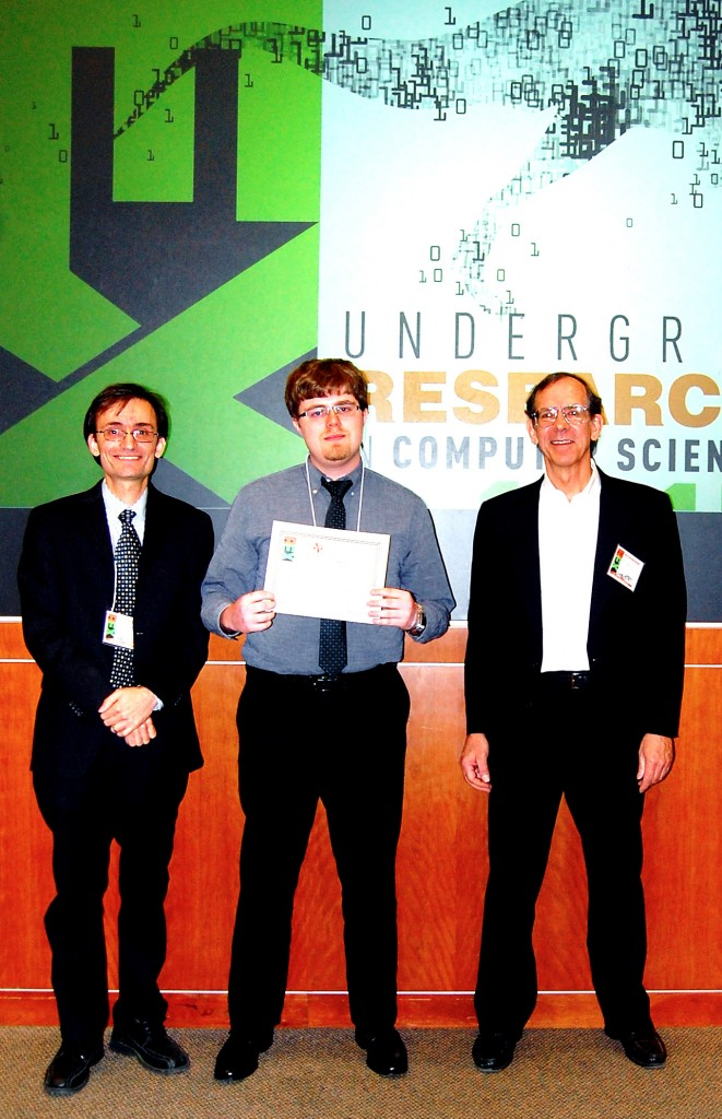 Brandon Wilson (University of Houston) - 2nd place winner in the paper presentations.