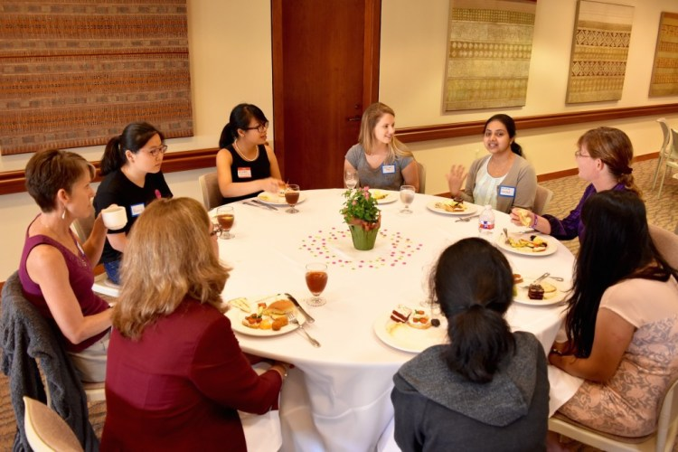 PhD Female Lunch 5