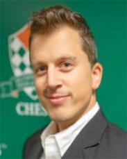 David Berczes, finance graduate student USCF Rating: 2564 FIDE Rating: 2509