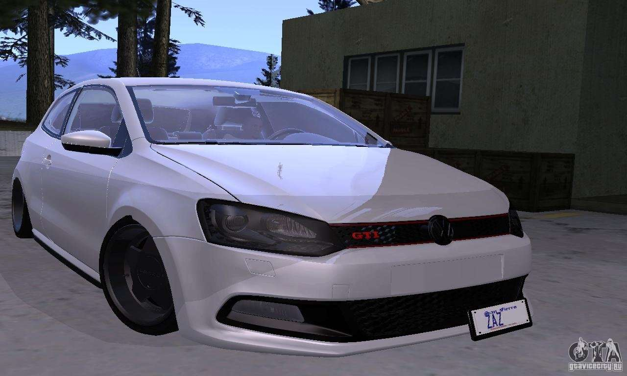 Volkswagen Polo Gti Stanced For Gta San Andreas
