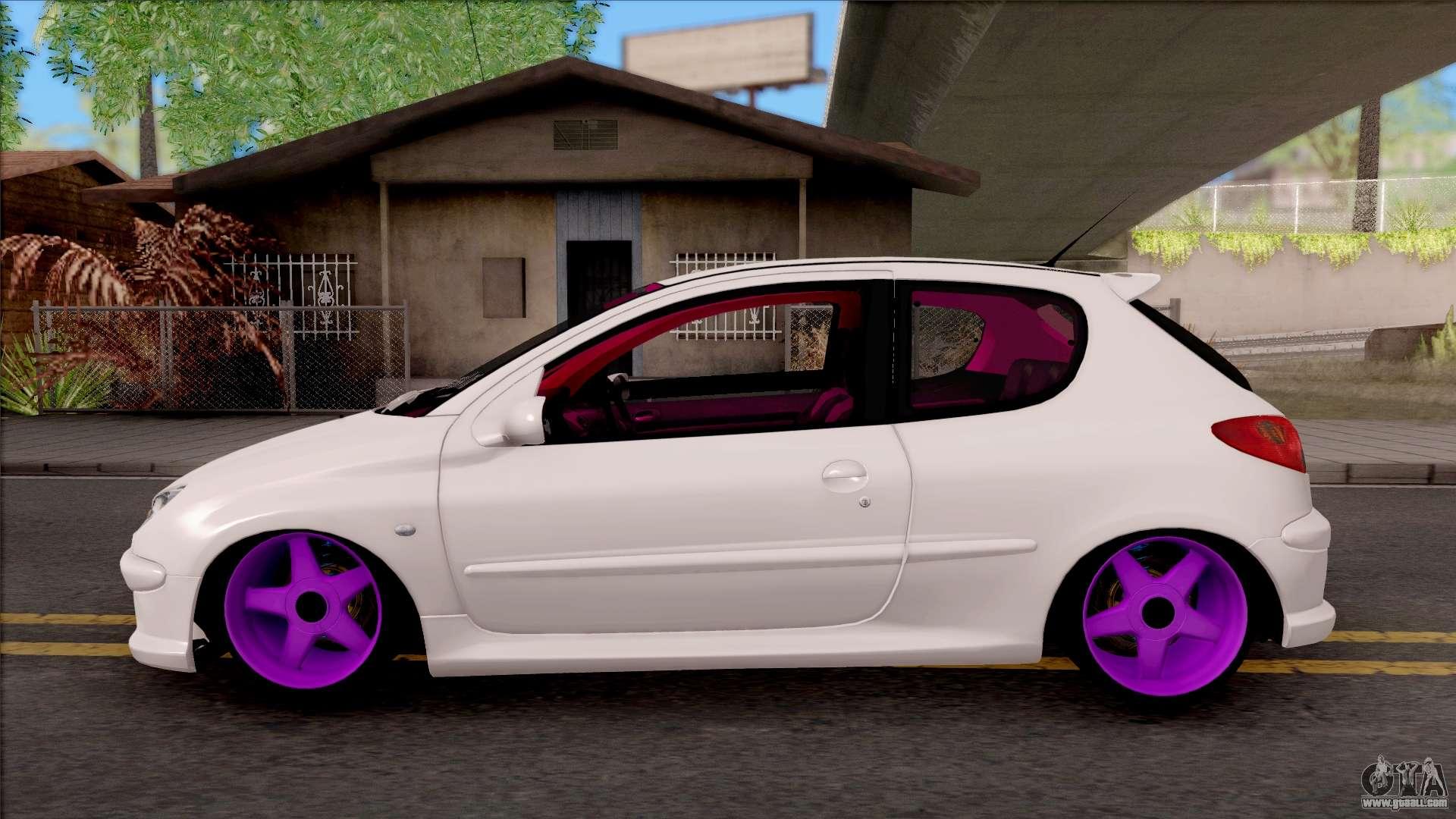 Gta 5 Peugeot 206 Mod - EpicGaming