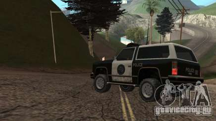 Become a cop in GTA San Andreas