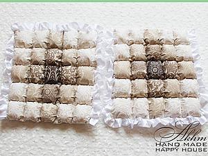 Техника «пуфики» («бисквит», «бомбон») | Ярмарка Мастеров - ручная работа, handmade