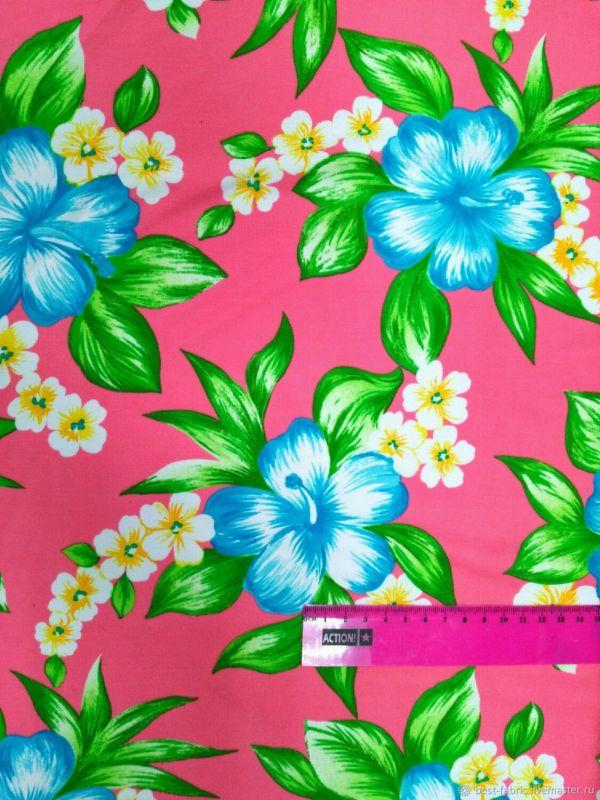 Бифлекс ткань для купальников Тропические Цветы – купить ...