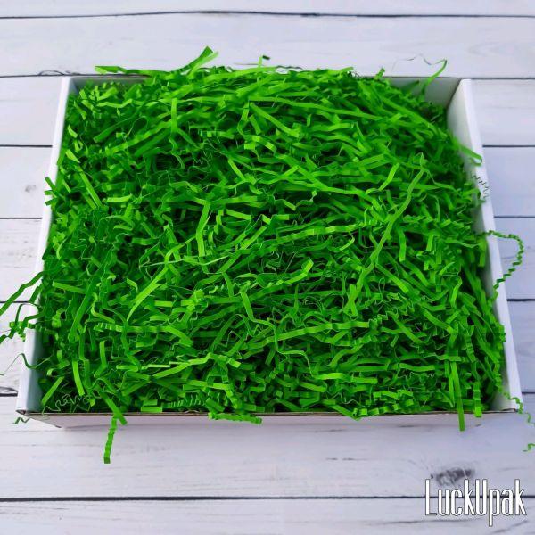 Наполнитель Лесной зелёный бумажный 50 гр – купить на ...