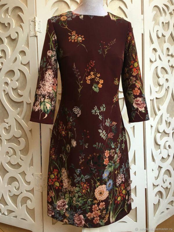 Платье в стиле Гуччи – заказать на Ярмарке Мастеров ...