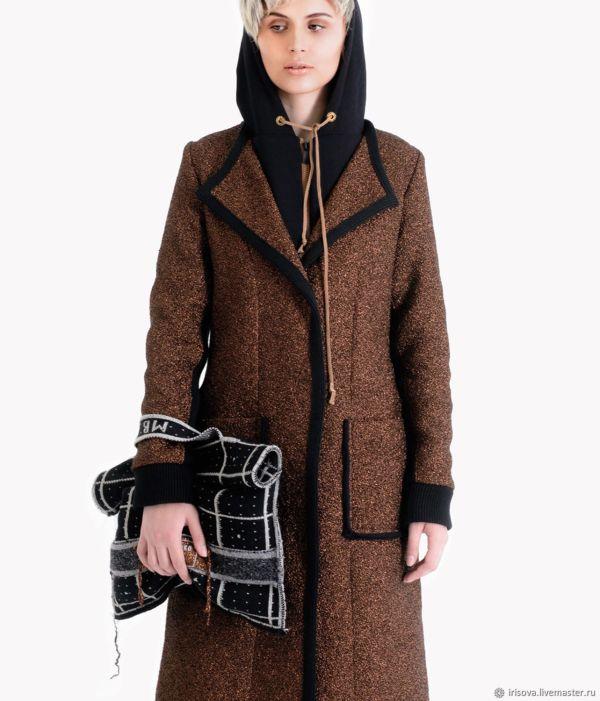 """Пальто-толстовка из трикотажа """"Марс """" – купить на Ярмарке ..."""