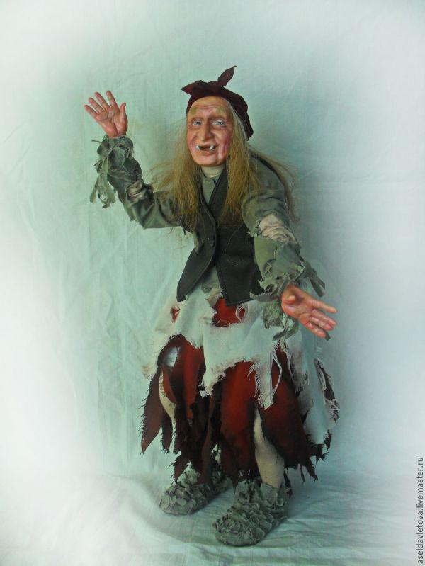 Баба яга из сказки Морозко заказать на Ярмарке Мастеров