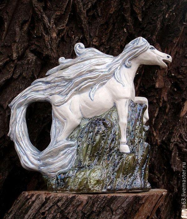 """Чайник заварочный """"Лошадь-символ 2014 года"""" – купить на ..."""