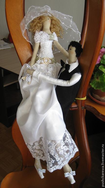 Жених и невеста – заказать на Ярмарке Мастеров – 5IS1NRU ...