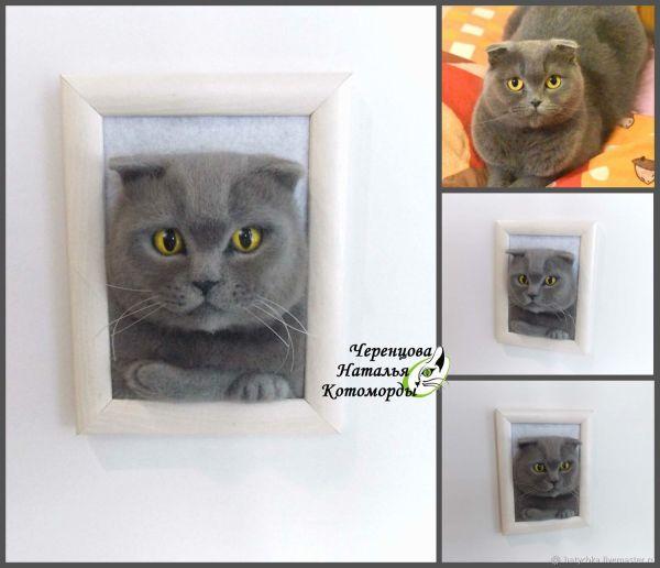 Портрет кота по фото – купить в интернет-магазине на ...