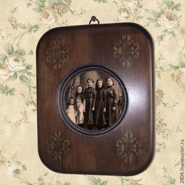 Фоторамка № 50 деревянная Рамки для фото под старину ...