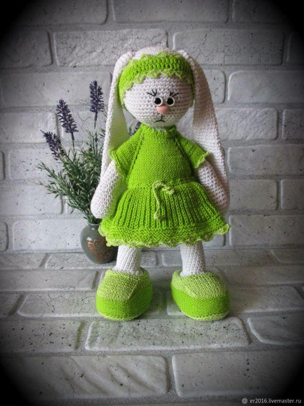 Потеряшка Кукла заяц тильда вязаный – заказать на Ярмарке ...