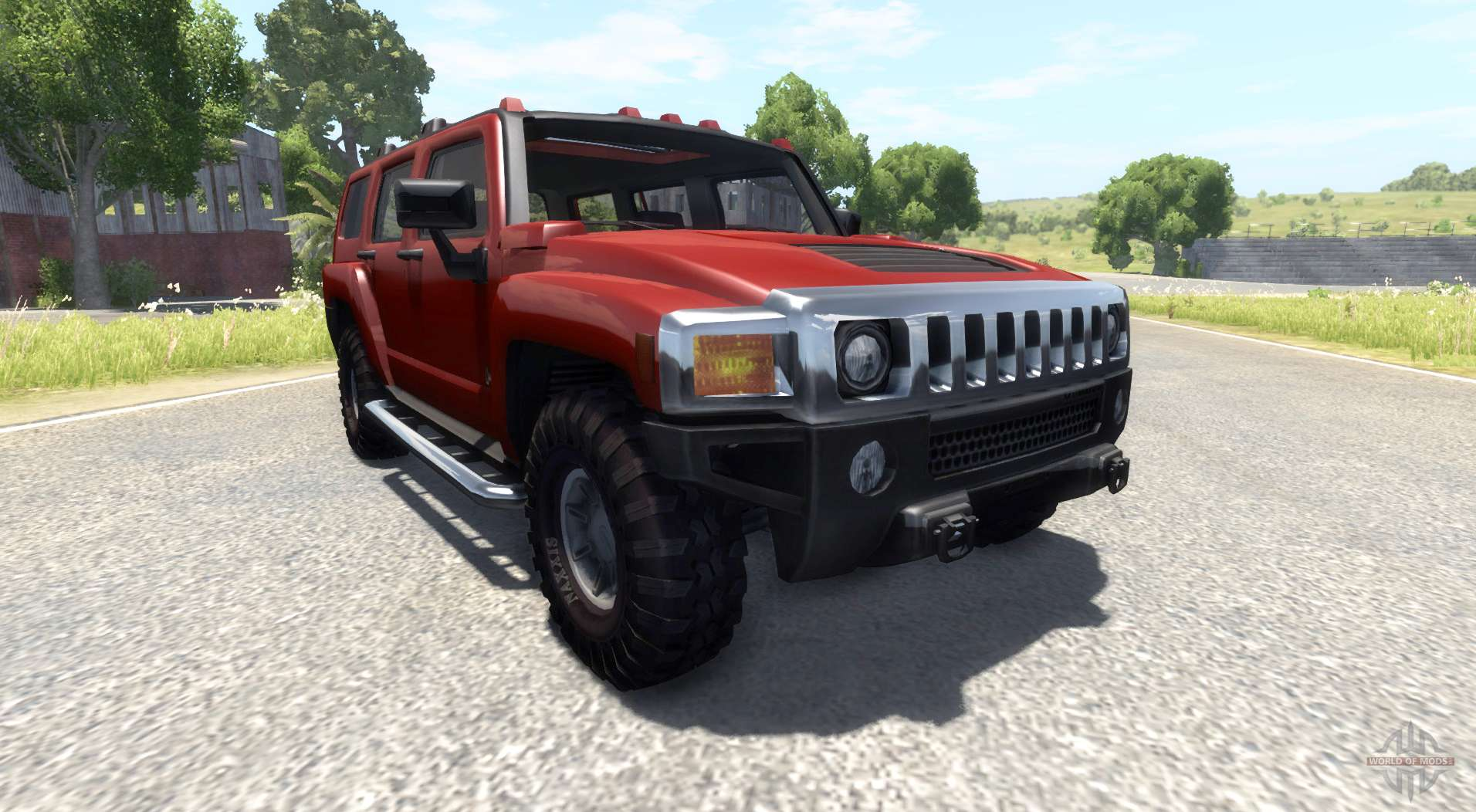 Hummer H3 for BeamNG Drive