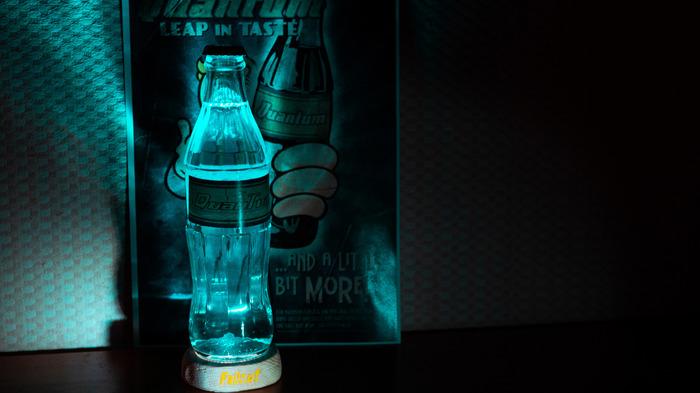 Квантовая Ядер-Кола своими руками Fallout, Светильник, Лампа, Nuka Cola, Nuka Cola quantum, Самоделки, Ручная работа, Длиннопост