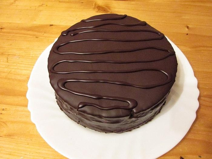 "Cake ""Prague"" Memasak Lelaki Klasik, Memasak, Kek, Pastries, Cake Prague, Pencuci mulut, Teh, Gula-gula, Panjang, Resipi"