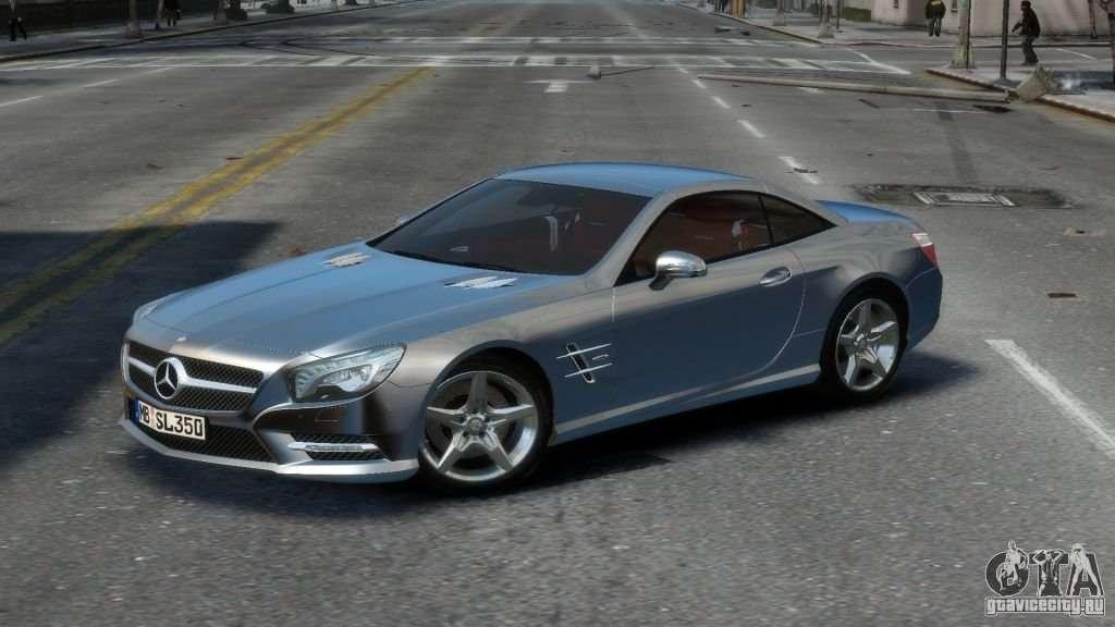 Mercedes Benz Sl 350 2013 V1 0 For Gta 4