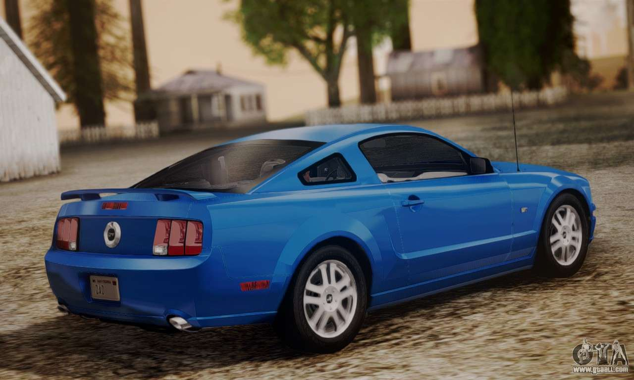 Introduction of the 4.6l, as the last mustangs were available with the popular 302s. Ford Mustang Gt 2005 V2 0 For Gta San Andreas