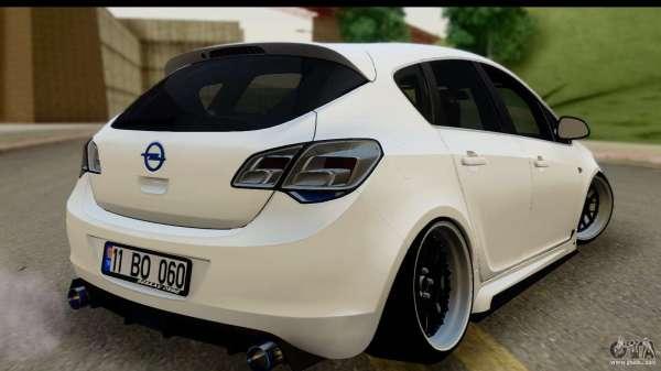 Opel Astra J for GTA San Andreas