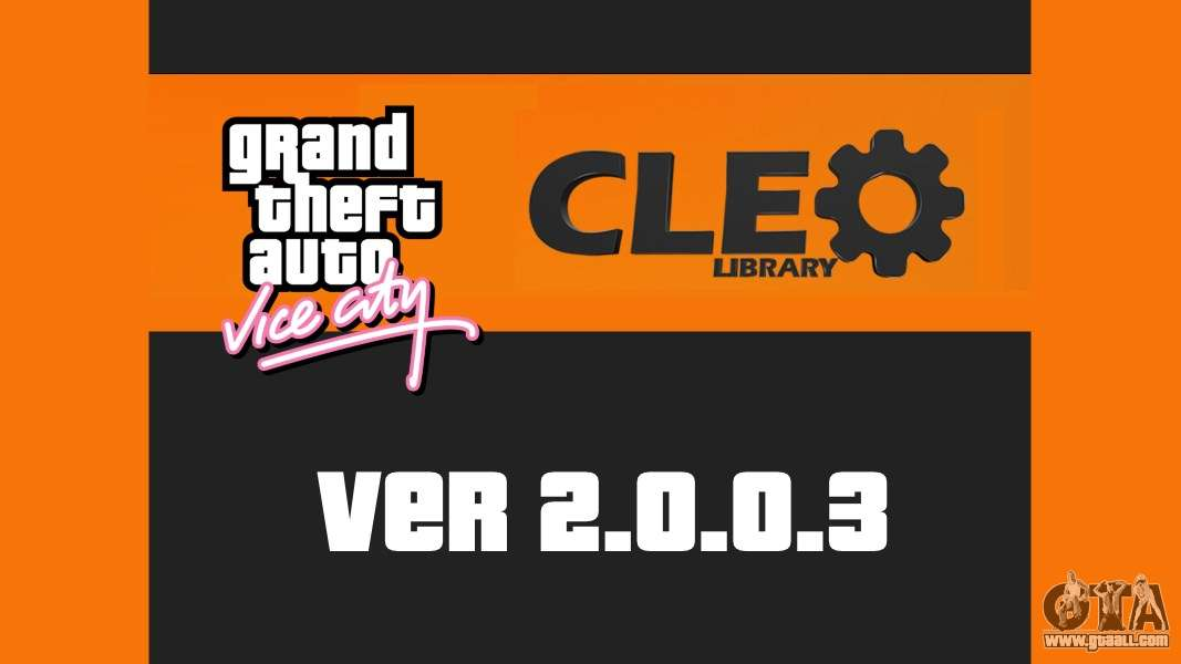 CLEO 2003 For GTA Vice City