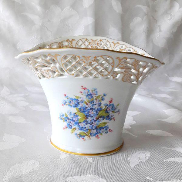 Винтаж: 1981, Ажурная ваза для цветов, Schumann – купить ...