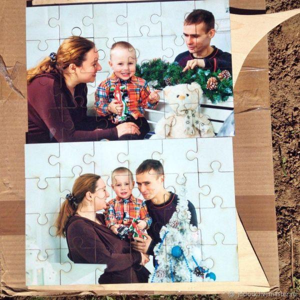 Пазлы из дерева (любые изображения) – заказать на Ярмарке ...