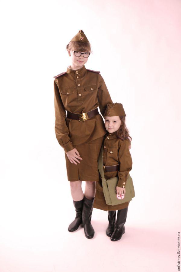 Военная форма для девочек образца 1943 года. Катюша ...