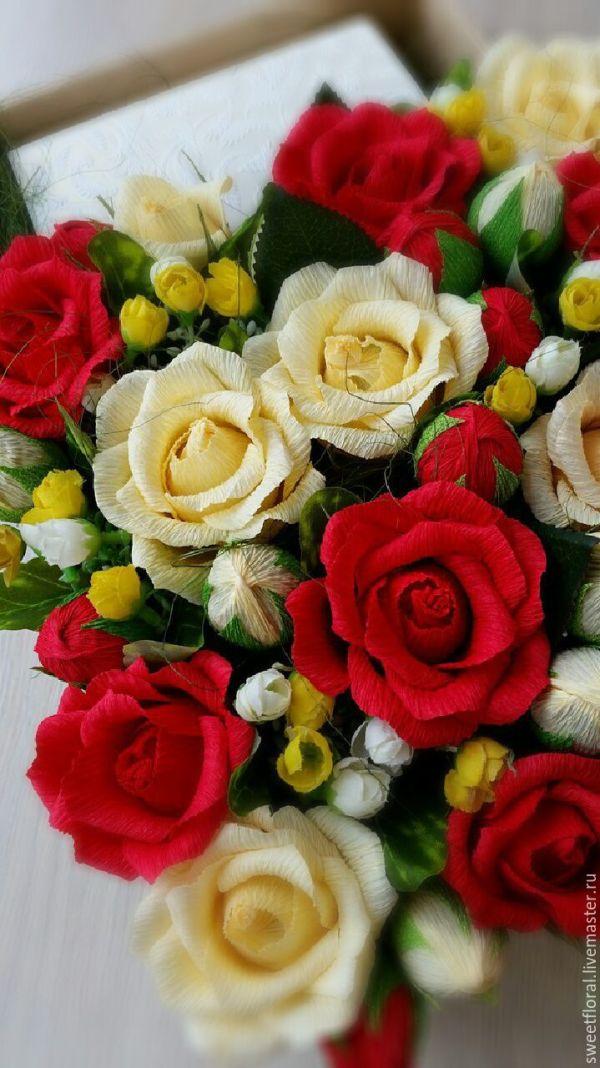 Свит бокс для подарка с цветами и конфетами – заказать на ...