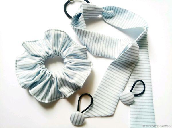 Резинка для волос: Комплект резинок для волос в полосочку ...