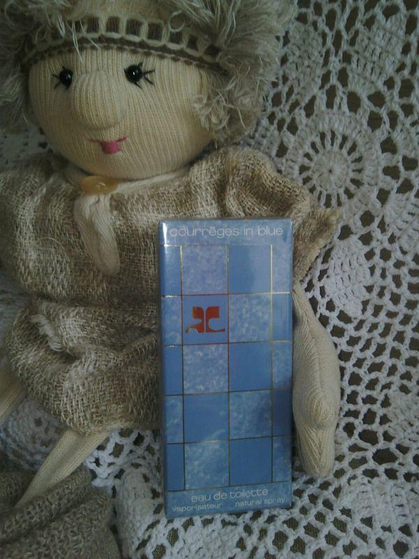 Винтаж: Courreges in blue (Голубой кураж) - аромат для ...