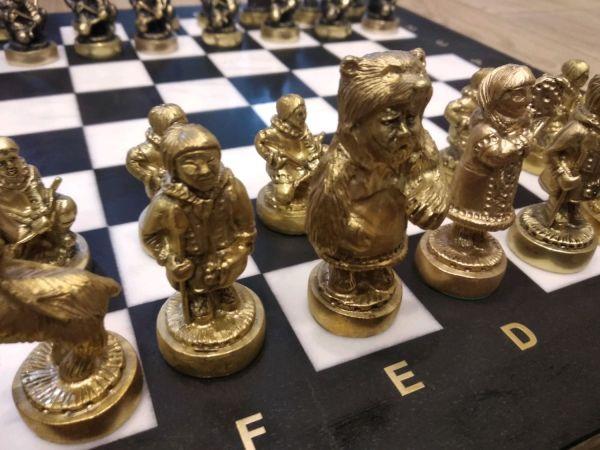 Шахматы Северные Народы бронза – заказать на Ярмарке ...