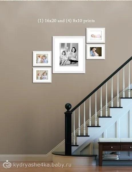Как Правильно Разместить Фото На Стене