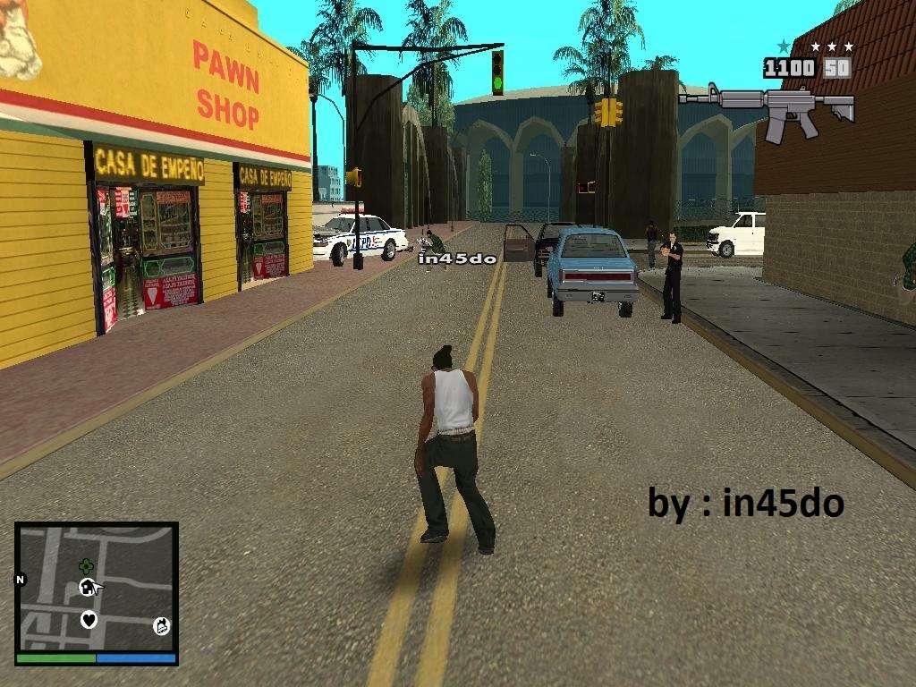 GTA V Interface For Samp For GTA San Andreas