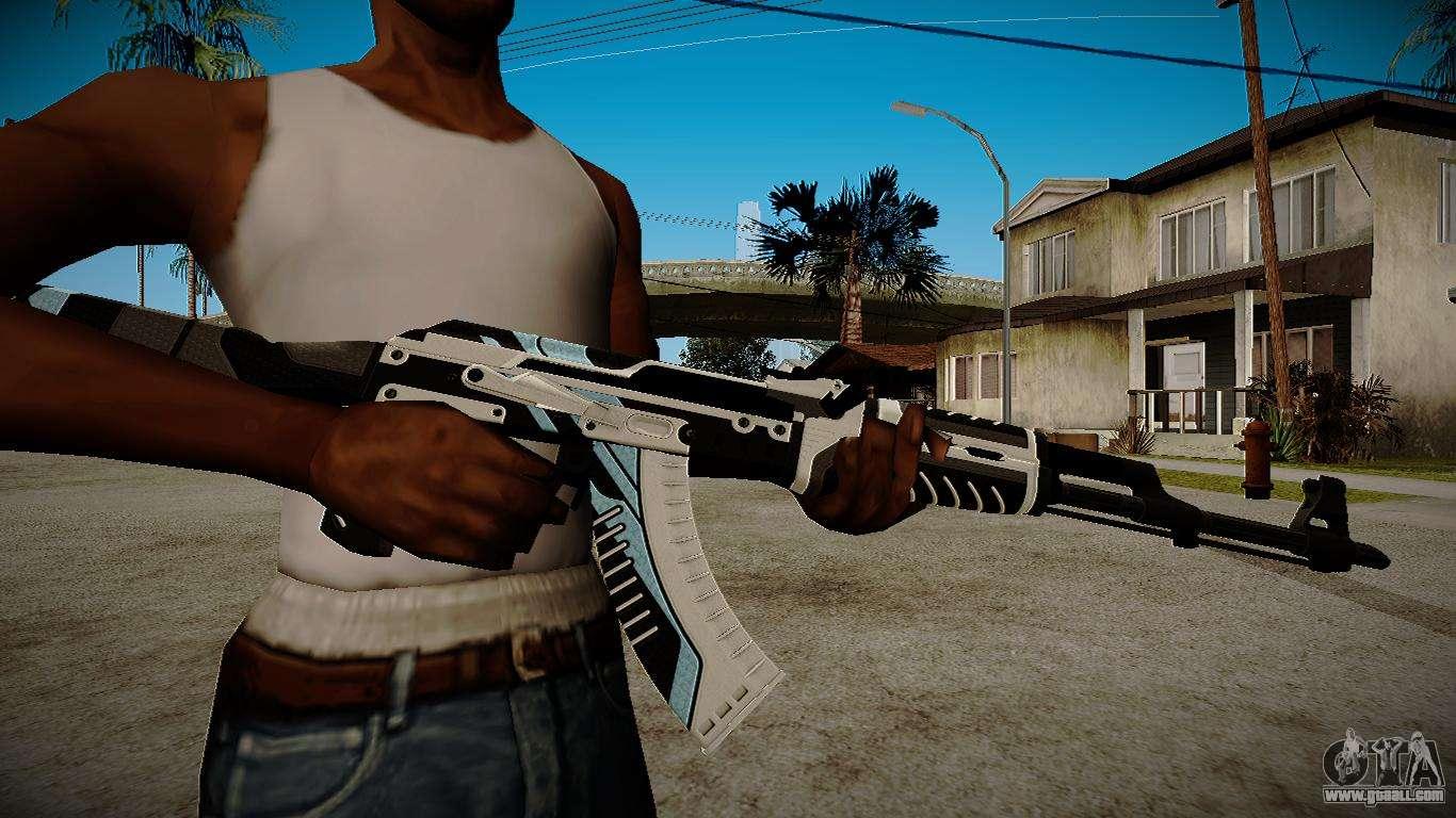 AK 47 Vulcan For GTA San Andreas
