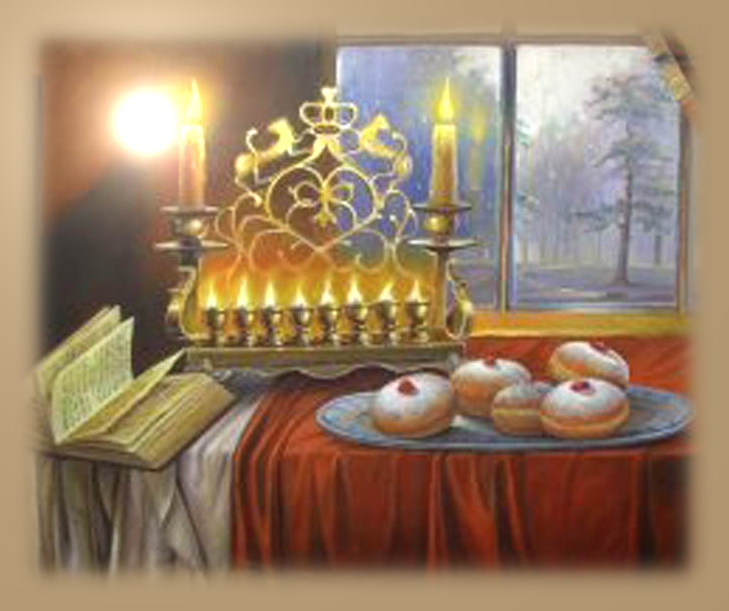 Hanukkah - Jewish Holiday Wonders, Fire and Delicious Donuts, Foto № 5