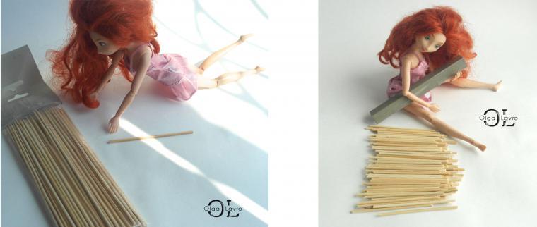 Делаем красивый дом и мебель для кукол Барби, фото № 44