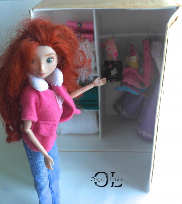 Делаем красивый дом и мебель для кукол Барби, фото № 33