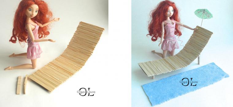 Делаем красивый дом и мебель для кукол Барби, фото № 45