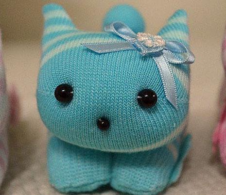 Забавные мягкие игрушки из носков, фото № 29