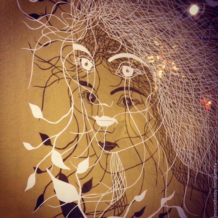 Балет на окне, или Вырезаем интересные снежинки, фото № 45